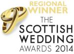 2014 Winner - The Scottish Wedding Awards