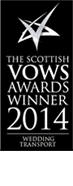 THE SCOTTISH VOWS AWARDS WINNER 2014