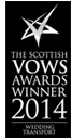 THE SCOTTISH VOWS AWARDS WINNER 2014
