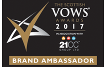 VOWS AWARDS BRAND AMBASSADOR 2017