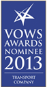 VOWS AWARDS NOMINEE 2013