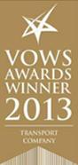VOWS AWARDS WINNER 2013