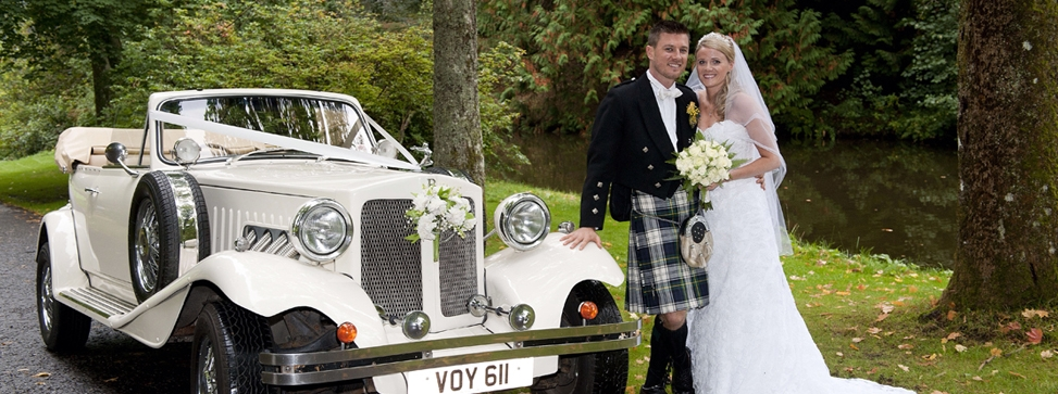 Best Wedding Transport Supplier Scotland | Chauffeurs of Carnoustie
